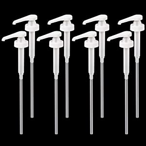 Newflager Gallon Pump Dispenser, Fits Most 1 Gallon Jugs and Containers 38/400 (Pack of 8)