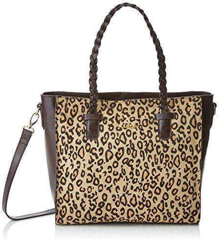 CUPLE 103097, Shopper para Mujer, Varios Colores (Leopardo), 11x30x30 cm (W x H x L)
