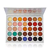 Beauty Glazed Eyeshadow Palette Pigmented Colors Makeup Pallets Eye Makeup 35 Shades Matte and Shimmer Pop Colors sombras para ojos Longevity Makeup For Beginners/ Traveling/ Giftable/ Presentation