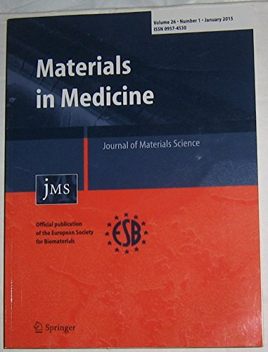 Journal of Materials Science: Materials in Medicine (Journal Of Materials Science Materials In Medicine)