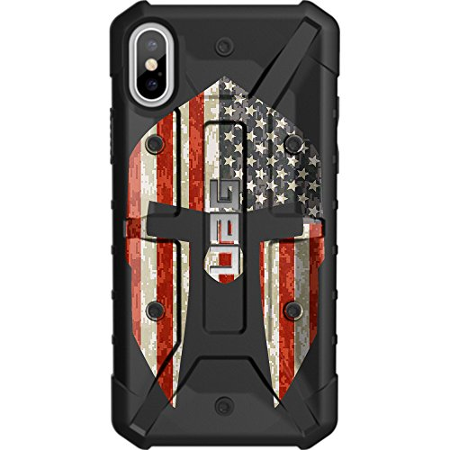 Limited Edition - Customized Designs by Ego Tactical Over a UAG- Urban Armor Gear Case for Apple iPhone X/Xs (5.8