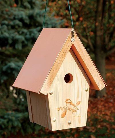 Woodlink COPCH Coppertop Chickadee/Wren Bird House