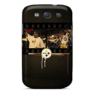 Unique Design Galaxy S3 Durable Tpu Case Cover Pittsburgh Steelers
