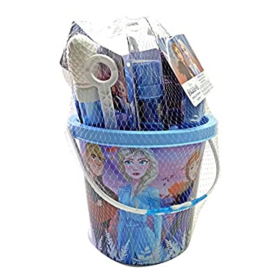 Character Outdoor Summer Toys for Kids, Beach Bucket with Rake, Shovel, Jump Ropes, Molds, and So Much More: Toys & Games