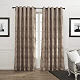 MICHELE HOME FASHION 100″ W x 102″ L (Set of 1 panel) 20 Custom Country Retro Style Lush Trees Pattern Grommet Top Lined Blackout Window Treatment Draperies & Curtains Panels Review