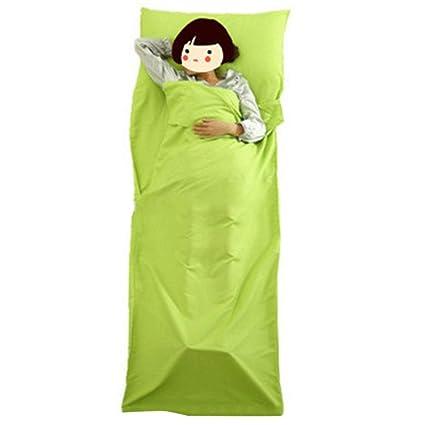 LINAE - Saco de Dormir (75 x 210 cm, Ultraligero, para Uso en