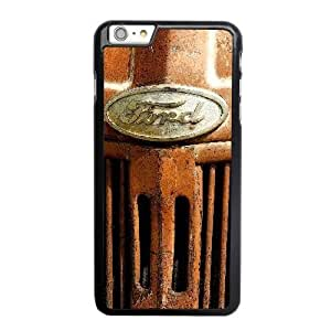 Generic ford logo image Fashion Cell Phone Case for iPhone 6 6S plus 5.5 inch Black HT_3913276
