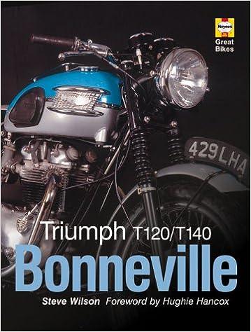 Buy Triumph T120t140 Bonneville Haynes Great Bikes Book Online At