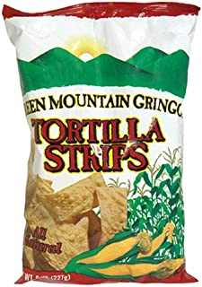 product image for Green Mountain Gringo Tortilla Strips, 8-Ounce Bag (Pack of 12)