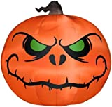 Gemmy 5' Airblown Reaper Pumpkin Halloween Inflatable