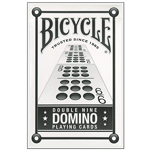 Bicycle Double Nine Dominos Playing Cards