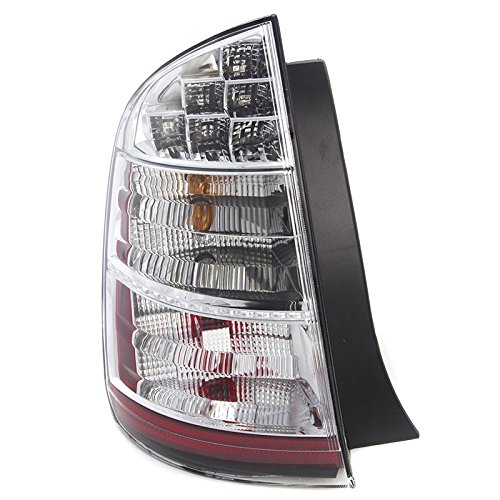 (OE Replacement Toyota Prius Left Driver Side Tail Light Lens and Housing)