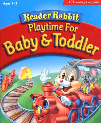 Reader Rabbit Playtime for Baby & Toddler  [OLD VERSION] by The Learning Company