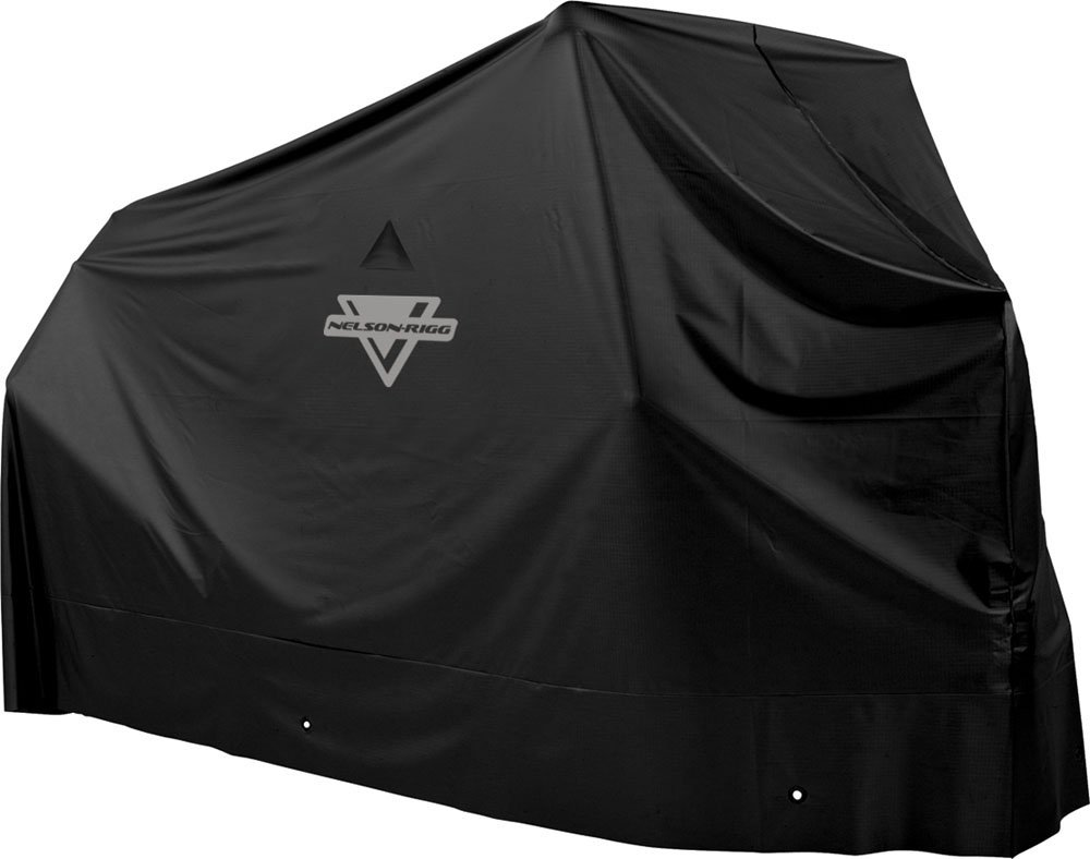 Nelson-Rigg Econo Motorcycle Cover (Black, Large) Nelson Rigg MC-900-03-LG
