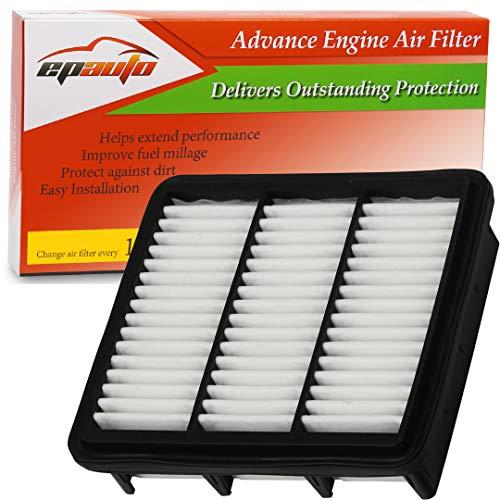 2007 Hyundai Elantra Air - EPAuto GP470 (CA10470) Replacement for Hyundai/Kia Extra Guard Rigid Panel Air Filter for Elantra L4 2.0L (2007-2012), Forte (2010-2013), Forte Koup (2010-2013)