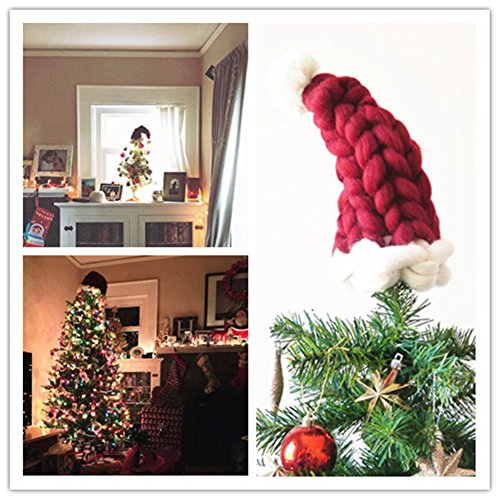 Santa Hat Christmas Tree Topper: Christmas Tree Toppers Canada 2018