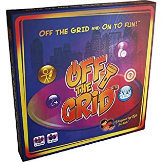 Off The Grid Board Game - 42 Fun Family Activities, Ages 4+, Recommended by Childhood Educators, Designed by Kids for Kids, Perfect for the Entire Family