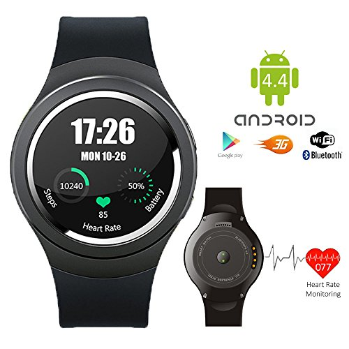 inDigi® Universal Bluetooth SmartWatch For Apple iOS Samsung Android Smart Phone HTC NEW by inDigi