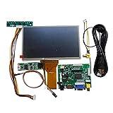 17,8cm 1024600pantalla táctil DIY Kit LCD Módulo con monitor de la visualización Veiw HDMI VGA USB AV Raspberry Pi trasera de coche 3