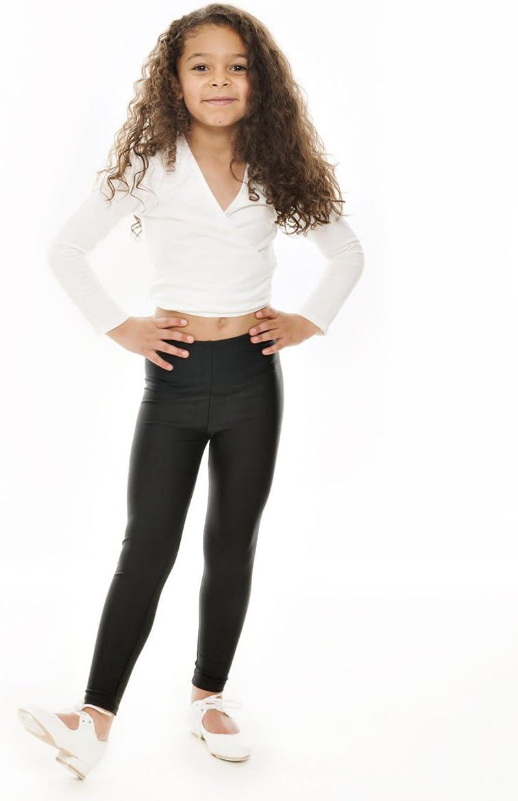 Katz Dancewear Ladies Girls Nylon Lycra Dance Gym Sports High Neck Crop Top KCTN-7 Age 7-8 Years Katz 1, Flo Green