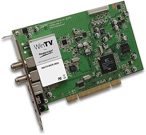 Hauppauge WinTV-HVR 1600 TV Tuner Interno Analógica PCI - Sintonizador de TV (Analógica, 125 canales, MPEG2, PCI, Verde, Windows 7 Home Basic,Windows 7 Home Basic x64,Windows 7 Home Premium,Windows 7 Home Premium...):