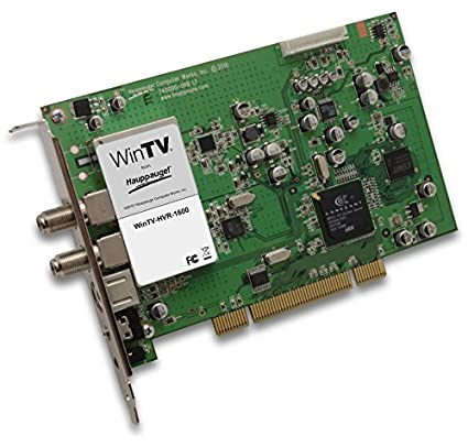 HAUPPAUGE WINTV HVR DRIVERS FOR MAC