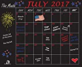 DoSensePro Monthly Calendar Chalkboard Planner Organizer, Wall Decal Chore Chart Family Calendar 18'' x 23''. Perfect for Restaurant, Office, Home, Kitchen, Dorm Rooms - Get Yours Now