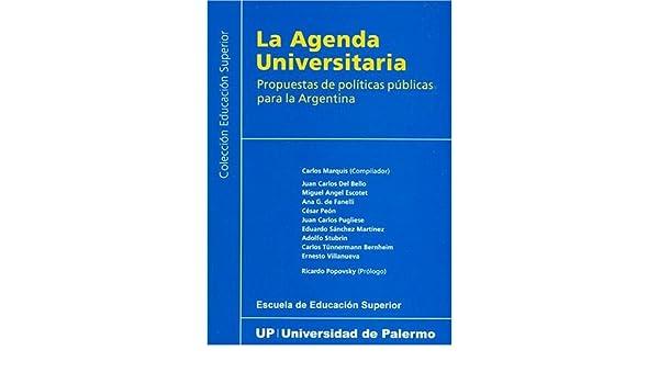 La Agenda Universitaria: Amazon.es: Carlos Marquis: Libros
