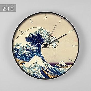 WuuLii Decor Wanduhr   Japanische Art Wanduhr Dekorative Uhr Für  Wohnzimmer, Schlafzimmer, Office Space