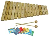 D\'Luca XL15A 15 Notes Wood Xylophone with Music Cards