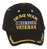 Show your veteran pride with this sturdy adjustable Iraq War Veteran cap.