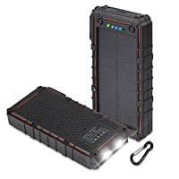 12000mAh Solar Battery Charger by HOBEST