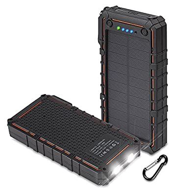 12000mAh Solar Battery Charger