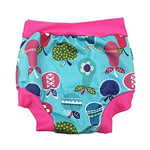 79669b90 Zilee Pañal bañador para Bebé Ropa de baño Bóxers Happy Nappy Pañal de  Natación, Bebé