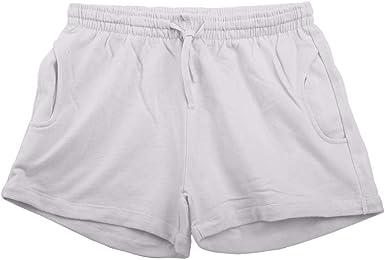 Acrweg Shorts Mujer Verano Sweatshorts Pantalones Casuales ...