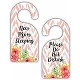 New Mom Sleeping - Please Do Not Disturb - Bedroom Door...
