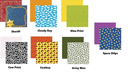 Toy Story Toybox 12x12 Scrapbook Papers Set of -