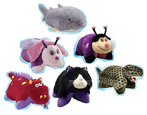 Pillow Pets Pee-Wees Plush Stuffed Animal Toy Wild Time Z...