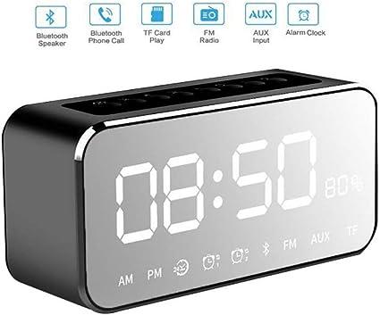 Réveil numérique Bluetooth Haut Parleur Nouvelle Horloge