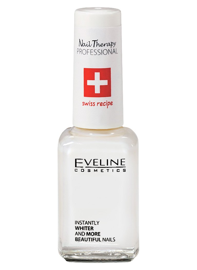 Eveline Cosmetics 3 In 1 Instantly Whiter Nail Whitener : Nail Thickening Solutions : Beauty