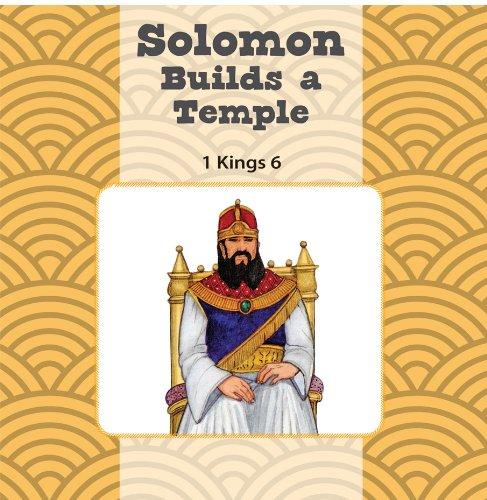 Solomon Builds the Temple / King Josiah Finds the Bible Flip Book [Sara Mulso - Heidi Rowan] (Tapa Dura)
