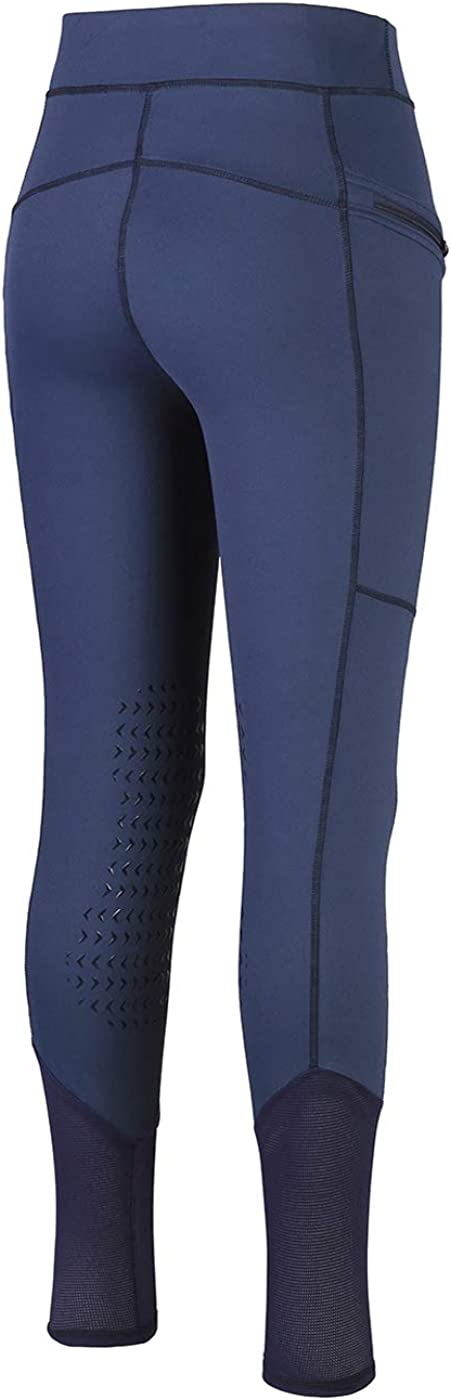 HR Farm Lady Light Weight Silicone Grip Leggings Horse Riding Tights