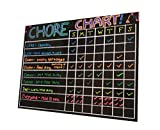 XL Chore Charts For Multiple Kids with 4 Pack