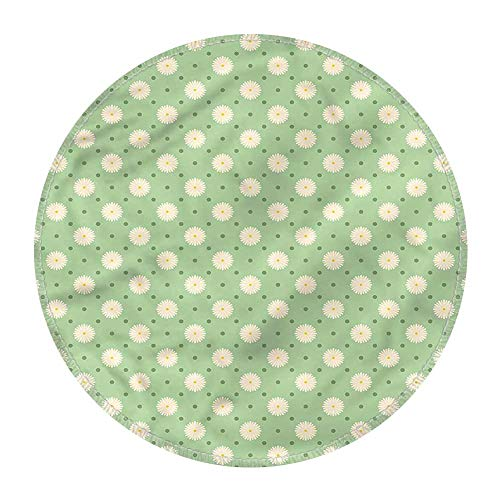 Retro Spillproof Tablecloths Tablecloths for Spring D 36 Inch Spring Plants Yard from RenteriaDecor