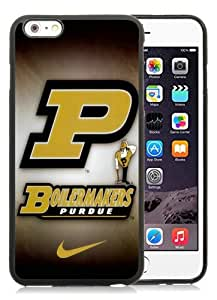 High Quality iPhone 6 Plus 5.5 Inch TPU Case ,Cool And Fantastic Designed Case With Purdue Boilermakers 02 Black iPhone 6 Plus Cover