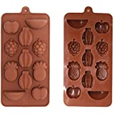 Silicone Ice Tray / Chocolate Mould - Fruit Design (1)