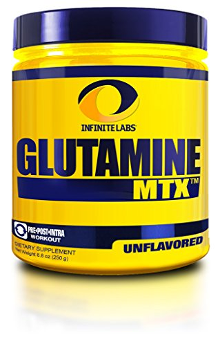Cheap Infinite Labs Glutamine Powder, 8.8-Ounce, 250 grams, 50 servings