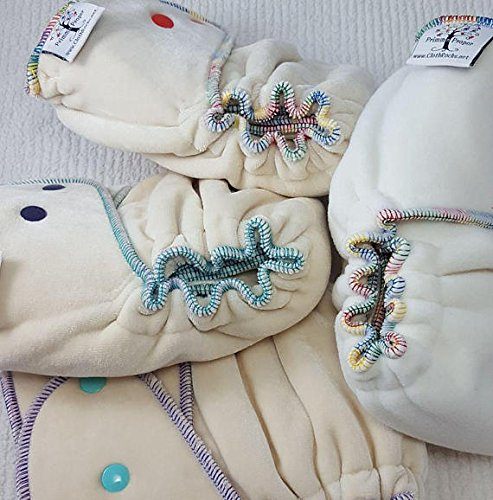 Night Time Cloth Diaper - Hemp Bamboo, Heavy Bamboo or Windpro by Primm n Proper Baby Cloth Diapers