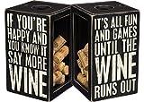 Primitives by Kathy More Wine Cork Holder