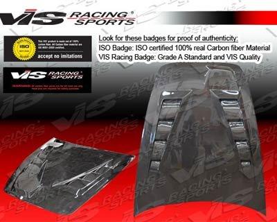 VIS 00-08 Honda S2000 Carbon Fiber Hood TECHNO R 03/04